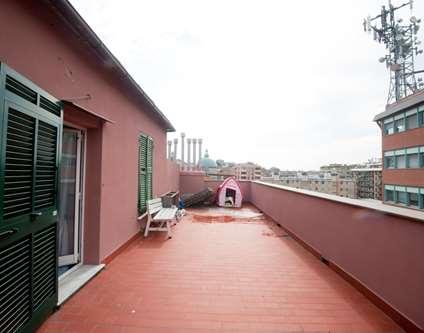 Attico Affitto Genova Via Donghi 14 San Fruttuoso